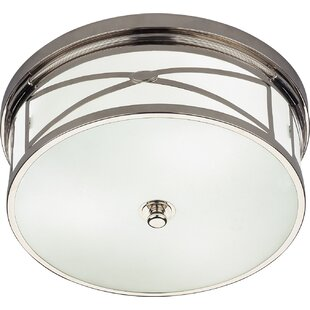Robert Abbey Chase 3-Light Flush Mount