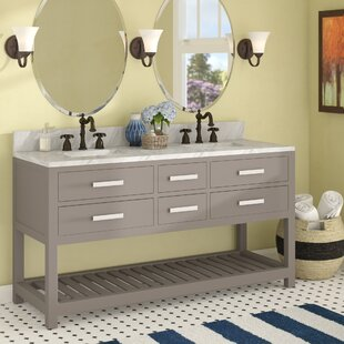 Berghoff 72  Double Bathroom Vanity Set by Andover Mills