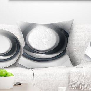Abstract Large Fractal Circle Pillow