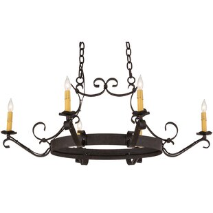 6 Candle-Style Chandelier by Meyda Tiffany