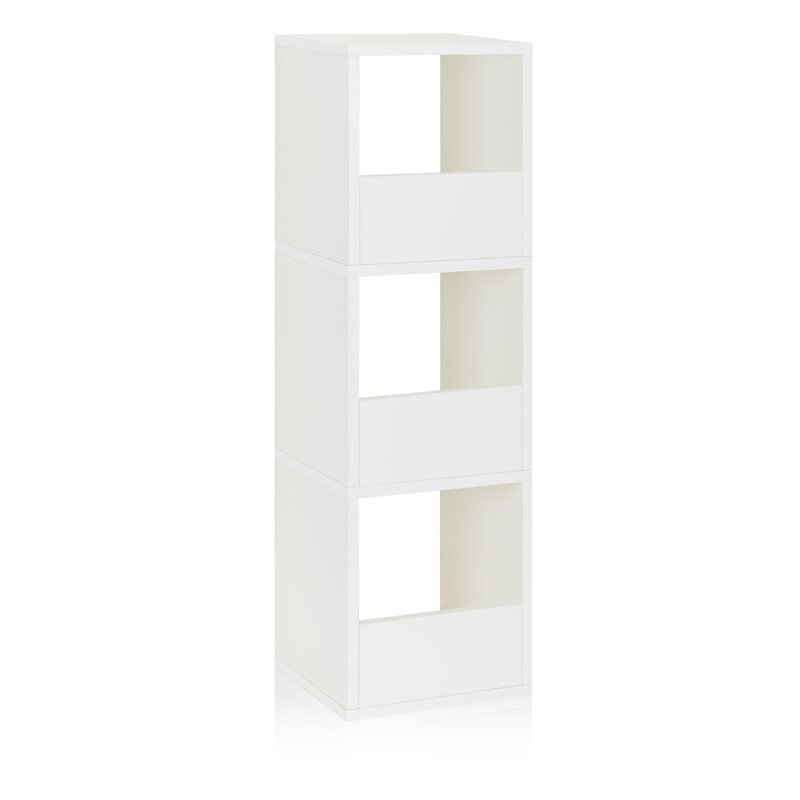 Andrade Trio Eco 3 Shelf Narrow Cube Unit Bookcase