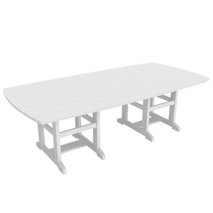 Kersten Plastic/Acrylic Dining Table