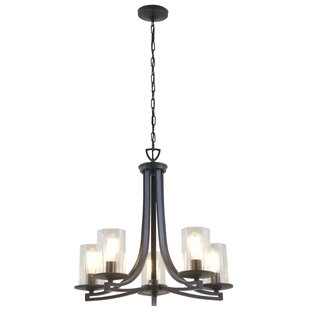 DVI Essex Special Edition 5-Light Shaded Chandelier
