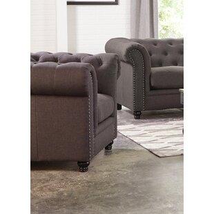 Vanallen Chestfield Chair by Darby Home Co