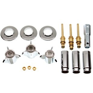 Danco Tub/Shower 3-Handle Remodeling Trim Kit
