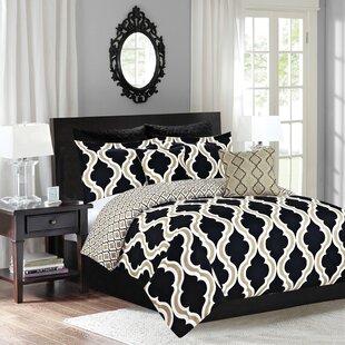 House of Hampton Vendrina 5 Piece Reversible Comforter Set