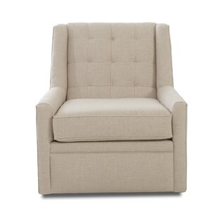 Harriet Bee Latisha Swivel Glider