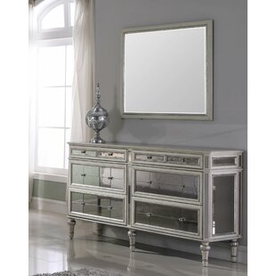 Kathryn 6 Drawer Double Dresser with Mirror
