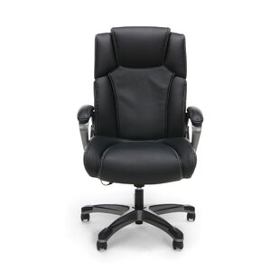Gilliland Heated Massage Executive Chair by Symple Stuff