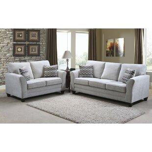 Nassauer 2 Piece Living Room Set