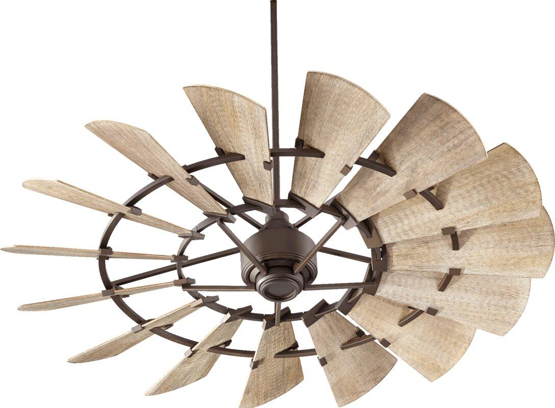 Laurel foundry modern farmhouse froid 60 windmill 15 blade ceiling froid 60 windmill 15 blade ceiling fan audiocablefo