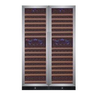 Allavino 344 Bottle FlexCount Classic Series Four Zone Convertible Wine Cellar