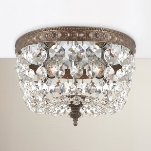 Astoria Grand Cadogan 2-Light Flush Mount