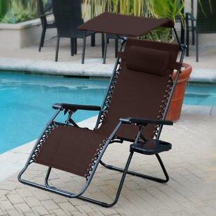 Oversized Olefin Reclining Zero Gravity Chair by Jeco Inc.