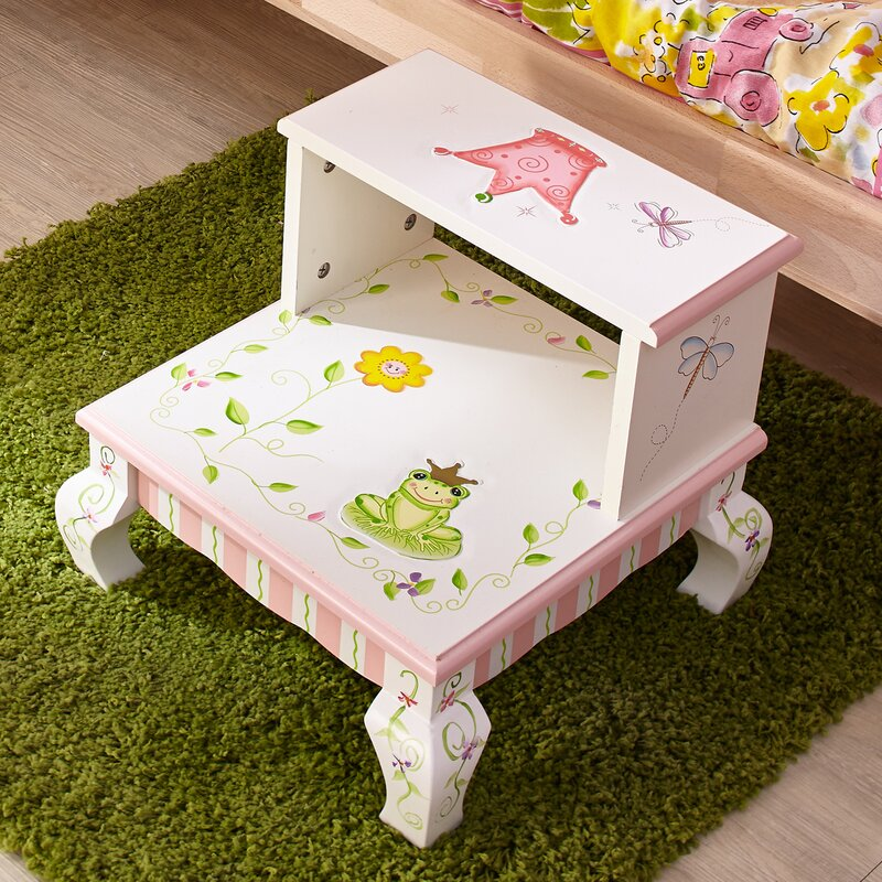 Princess and Frog Step Stool & Fantasy Fields Princess and Frog Step Stool \u0026 Reviews | Wayfair islam-shia.org