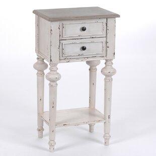 2 Drawer Bedside Table By Fleur De Lis Living