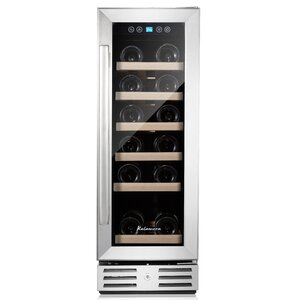18 Bottle Single Zone Built-In Wine Cooler