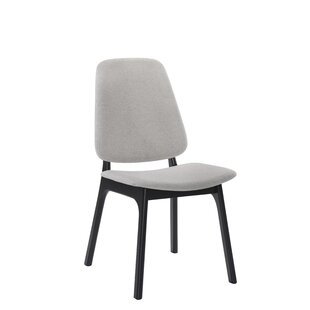 Paityn Modern Upholstered Dining Chair (Set of 2) Corrigan Studio