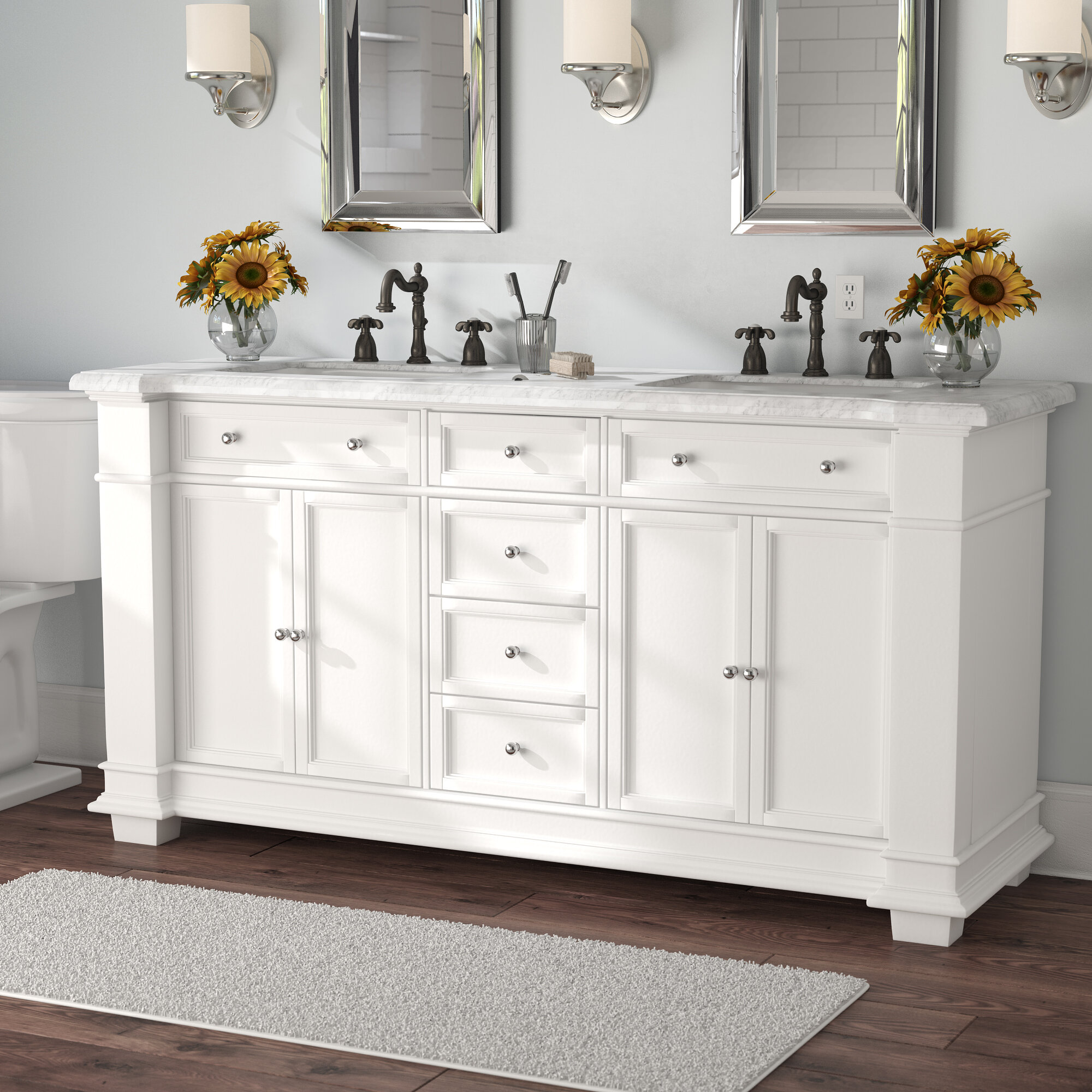 Traditional Bathroom Vanities You Ll Love In 2021 Wayfair