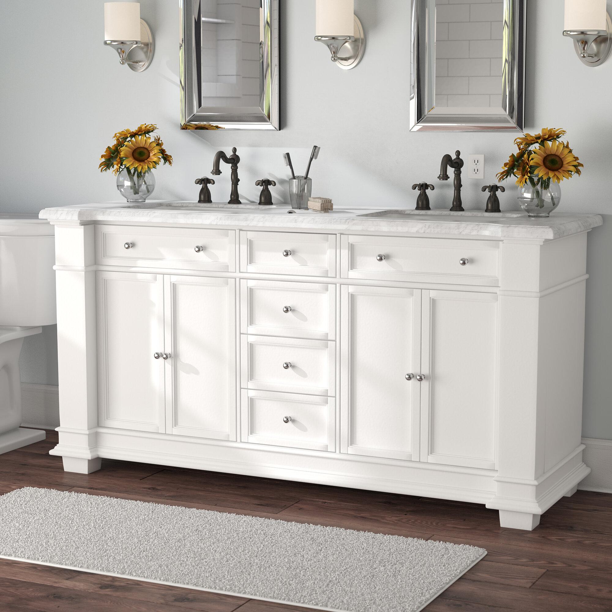 Outstanding Riccardo 72 Double Bathroom Vanity Set Interior Design Ideas Inesswwsoteloinfo