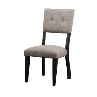 Mettler Relaxed Upholstered Dining Chair (Set of 2) by Charlton Home
