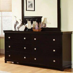 Mandie 6 Drawer Double Dresser