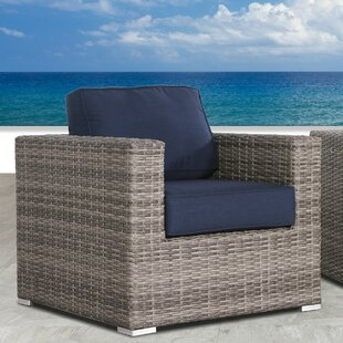 Feather Resort Grade Club Patio Chair With Sunbrella Cushions by Orren Ellis Cool