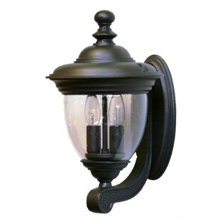 Alcott Hill Phillipstown 2-Light Outdoor Sconce