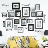 12 Family Quote Words Vinyl Wall Decal by Isabelle & Max™