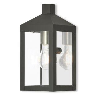 Mercury Row Demery LED Outdoor Wall Lantern