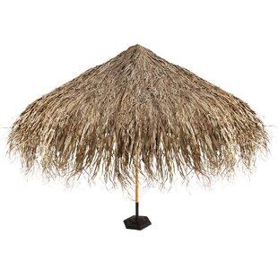 Design Toscano Tropical Thatch Patio Umbr..