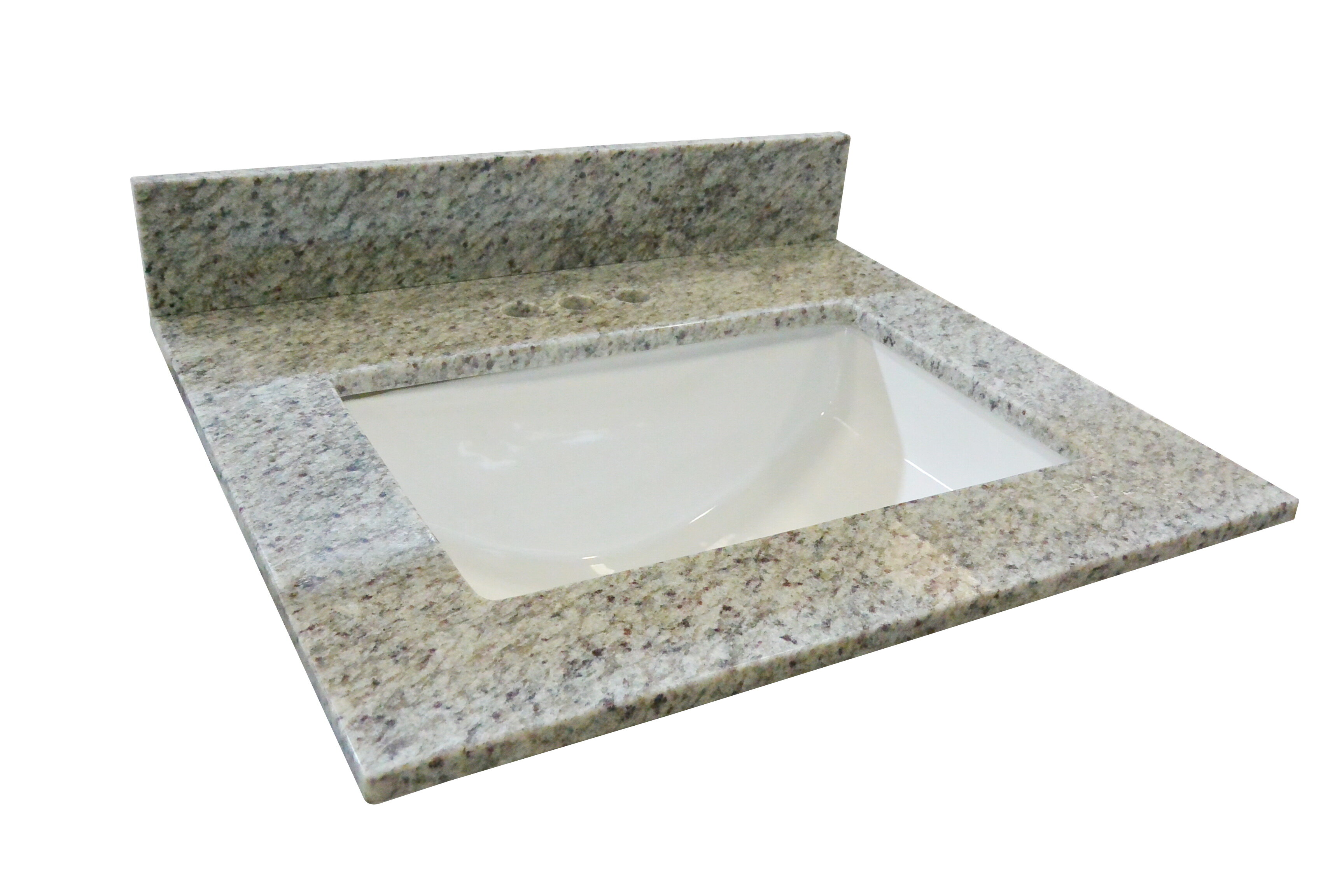 Design House Granite Single Bowl Vanity Top 37x22 Kashmir White Wayfair
