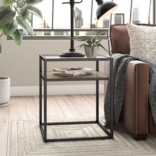 Hartley End Table with Storage by Modern Rustic Interiors