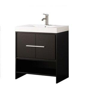 Peirce Modern 30 Single Bathroom Vanity Set by Orren Ellis
