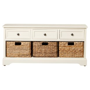 Price Check Ardina Wood Storage Bench Beachcrest Home