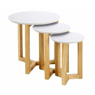 DeSoto 3 Piece Coffee Table Set By Mikado Living