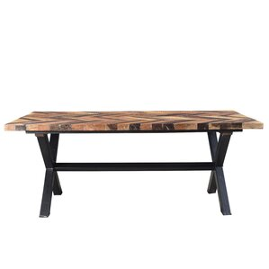 Fossil Mountain Dining Table by Loon Peak