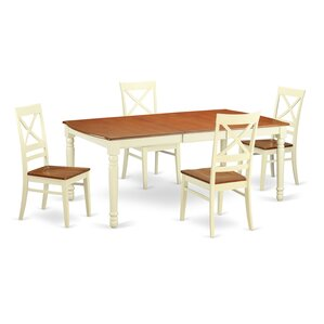 Dover 5 Piece Dining Set by Wooden Import..