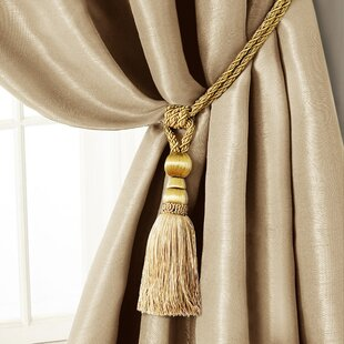 Amelia Tassel Curtain Tieback by Elrene Home Fashions