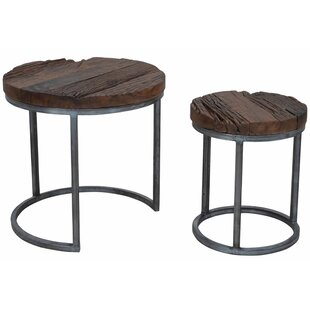 Diggins 2 Piece Nesting Tables by 17 Stor..