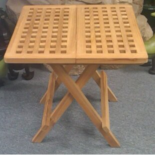 Find Folding Teak Bistro Table Compare & Buy