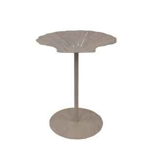 Highland Dunes Iniguez Shell Top End Table