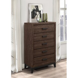Jerold 5 Drawer Chest by Williston Forge