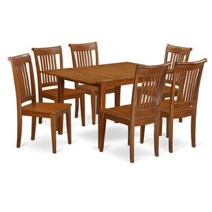 Lorelai 7 Piece Extendable Dining Set by Alcott Hill Sale