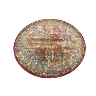 Lonerock Spanish Red/Green Area Rug by Bungalow Rose