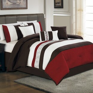 Hallmart Collectibles Ethan 7 Piece Comforter Set
