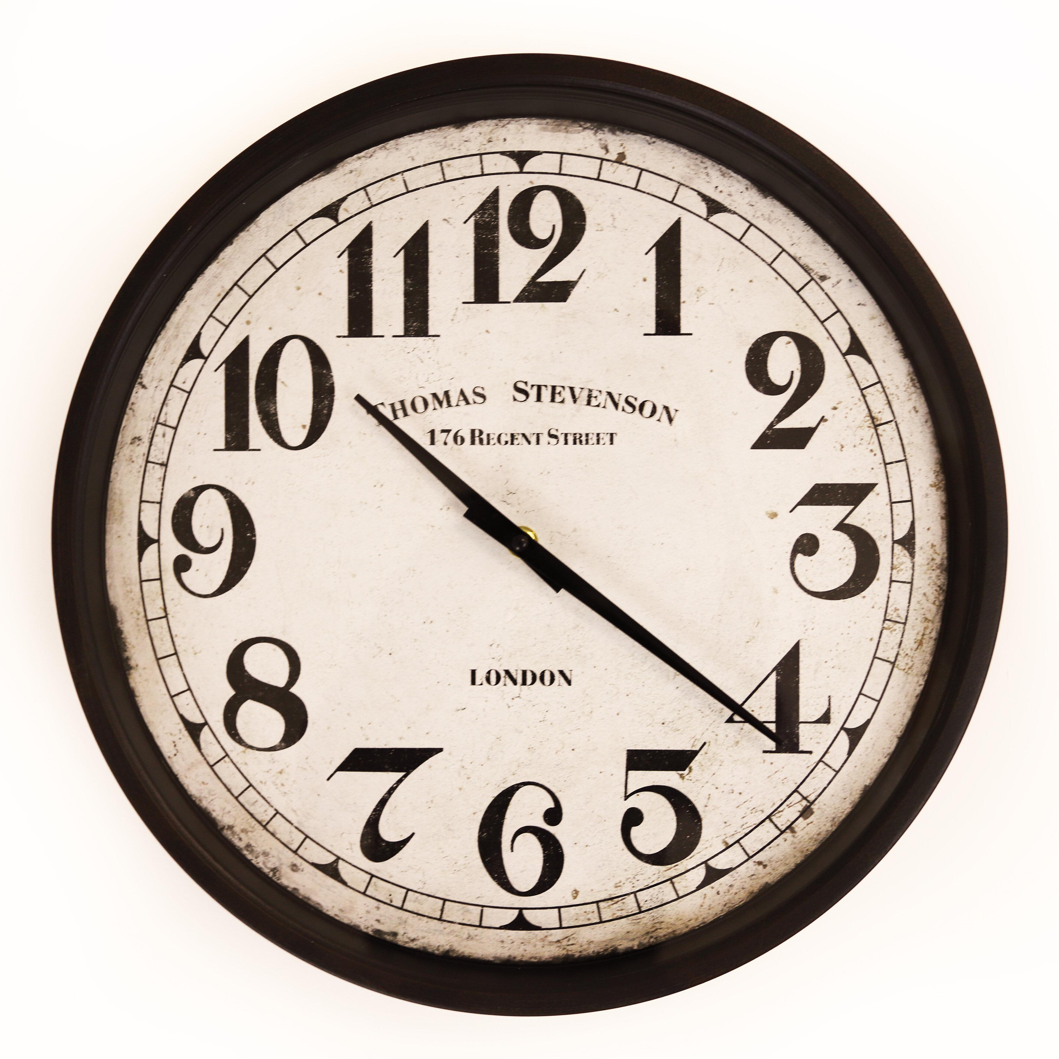 Winston Porter Templeton 15 3 Wall Clock Reviews Wayfair Ca