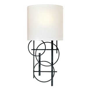 Compare prices Weissman Contemporary 1-Light Wall Sconce By Brayden Studio