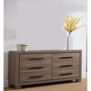 Fukuoka Gorgeous 6 Drawer Double Dresser