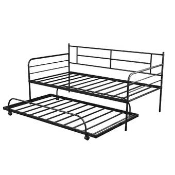 Gracie Oaks Lorine Daybed With Trundle Wayfair